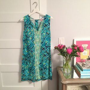LIKE NEW Kelby Stretch Shift Dress size 10